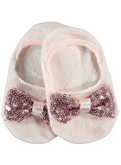 Katamino Katamino Kız Çocuk Babet Çorap 1-7 Yaş Ekru Katamino Kız Çocuk Babet Çorap 1-7 Yaş Ekru